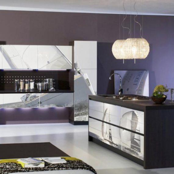 digital print on glass kitchen gallery